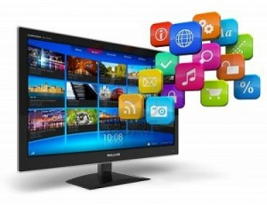 11788850-internet-television-concept-widescreen-tv-with-streaming-video-gallery-and-cloud-of-application-icon